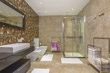 Interior of a bathroom in a luxury villa - 175125585