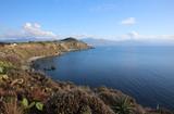 Coastline of Milazzo on Sicily. Italy - 175131388
