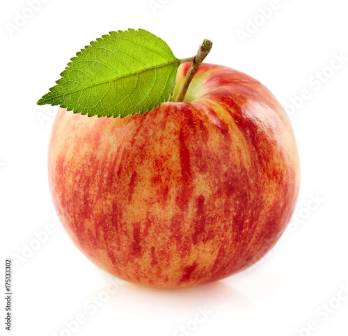 One ripe apple