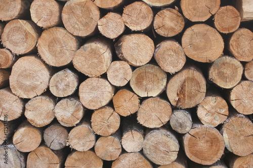 Spoed canvasdoek 2cm dik Brandhout textuur Hintergrund Brennholz