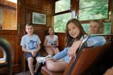 voyage, train, personne - 175154331