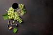 Quadro Wine glasses and grapes
