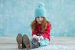 Quadro Child winter fashion
