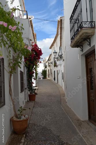 Altstadt Altea /Spanien) Straßenzug