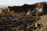 ruins of an ancient city in Tibet - 175184315