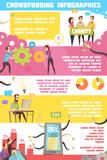 Crowdfunding Infographics Layout - 175189599