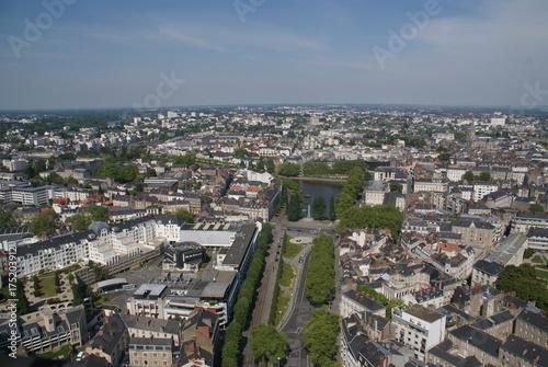 Vue de Nantes Loire-Atlantique France
