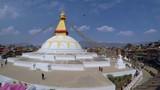 Boudhanath stupa timelapse in Kathmandu, Nepal - 175205962