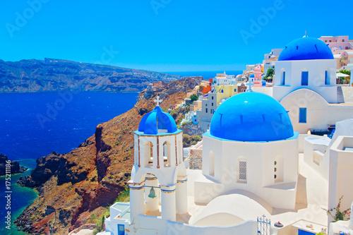 Foto op Aluminium Santorini Insel Santorini, Griechenland