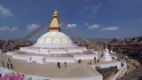 Boudhanath stupa in Kathmandu, Nepal - 175211310