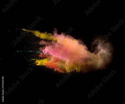 Sharp high speed smoke and powder