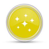 Gelber Button - Glanz - 175246182