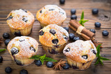Blueberry muffins  - 175247341