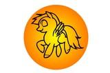 pegasus cartoon best color - 175250128