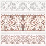 Seamless ribbon ornament in oriental art - 175251942