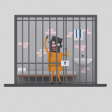 Man in prison