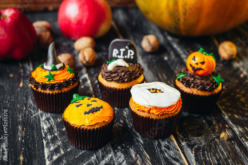 Delicious sweets for Halloween for children