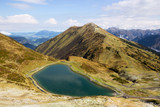 Bavaria: Lake in the mountains in Bavarian Alps