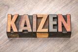 Kaizen -  continuous improvement concept - 175258325