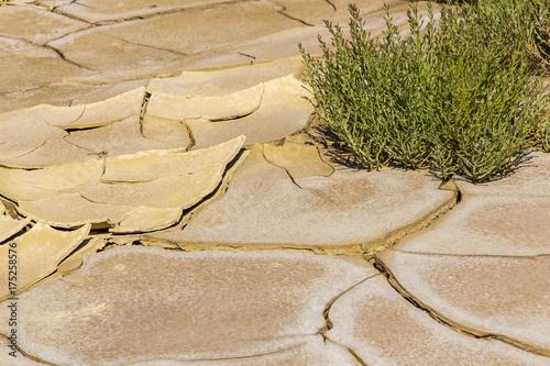 Tuinposter Stenen the desert of the Bardenas Reales in the Spanish province of Navarre