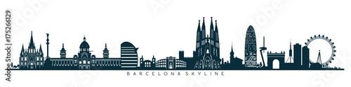 Barcelona skyline, horizon - 175266129