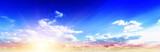 Sky panorama art day summer