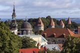 Rooftops of the city of Tallinn - Estonia poster