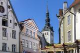 City of Tallinn in Estonia poster