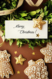 christmas ornaments greeting card - 175279142