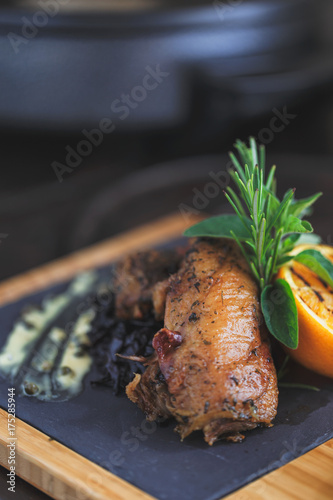 Duck fillet with orange - 175285944