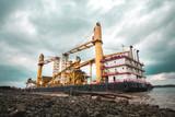 Big Crane Barge  - 175289314