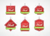 Étiquettes Joyeux Noël - super promo - 175289315