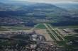 Aerial view of the Zurich Airport (ZRH), Switzerland - 175296121
