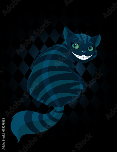 Staande foto Sprookjeswereld Cheshire Cat