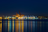 Port of Vancouver BC Blue Hour Canada - 175304570