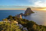 Savinar Tower and Es Vedra island, Ibiza, Spain - 175312730