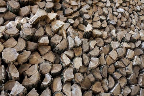 heating wood