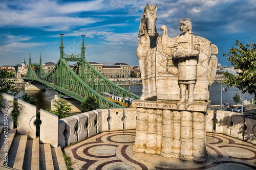 Budapest, Freiheitsbrücke Poster