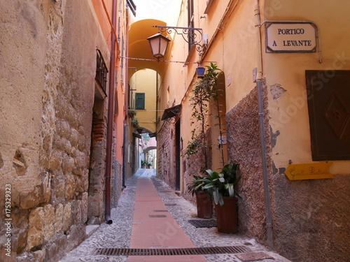 Staande foto Liguria Cervo - Carrugi Liguri
