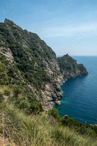 In de dag Liguria parc naturel de Portofino , italie