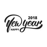 New Year 2018. Hand ...