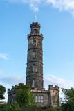 The Nelson monument on Calton Hill in Edinburgh - 175330178
