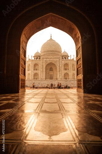 mata magnetyczna Taj Mahal