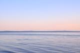 夕暮れの琵琶湖 - 175342323
