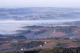 Pejzaż z mgłą