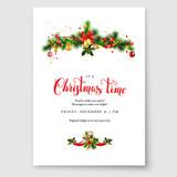 Christmas fir decoration - 175369339
