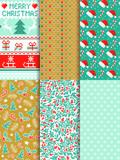 Weihnachten Hintergrund Muster nahtlos Set - 175370136