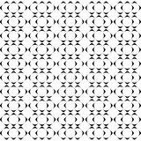 Seamless black and white weave pattern design  - 175374347