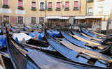 gondolas of Venice in italy