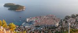 Panorama of Dubrovnik, Croatia, view from Srd peak - 175385369